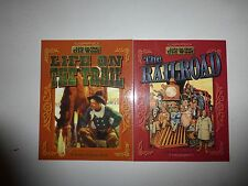 Lot of 2 Life in the Old West Series, Life on the Trail  & The Railroad, PB B13