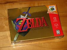 NEW SEALED The Legend of Zelda: Ocarina of Time (Nintendo 64) first print H-seam