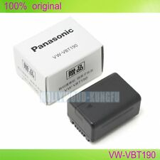 Genuine Original Panasonic VW-VBT190 Battery For Panasonic  HC-V550 V750 V720G