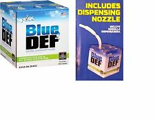 BLUE DEF BlueDEF 2.5 Gallon! W/  Dispenser Diesel Exhaust Fluid BMW VW Mercedes