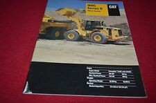 Caterpillar 966G Series II Wheel Loader Dealer's Brochure DCPA6 ver