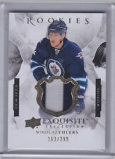 Nikolaj Ehlers 15/16 UD Exquisite Collection Rookie Patch /299