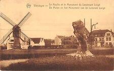 BR55441 Le Moulin et le monument du Lieutenant lange wind mill moulen a belgium