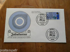 ALLEMAGNE FEDERALE RFA 1987, FDC ARTISANAT METIERS PLOMBIER JOBS timbre 1147