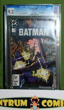 Batman #406 CGC 9.2 - Year One storyline by Frank Miller, white pages