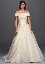 NWT Jewel Ivory Taffeta Wedding Dress, Size 12