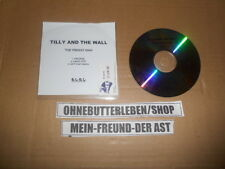 CD Pop Tilly And The Wall - The Freest Man (2 Song) MCD ELEL MOSHI MOSHI REC
