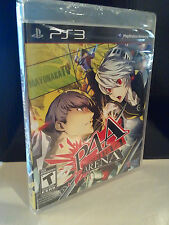 Persona 4 Arena  (PlayStation 3, 2012) NEW Sony PS3