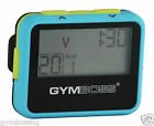 GYMBOSS INTERVAL TIMER AND STOPWATCH LIGHT BLUE / YELLOW SOFTCOAT SHIP FR CANADA