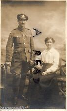 WW1 soldier L/Cpl Royal Army Medical Corps RAMC with wife Wallsend photo