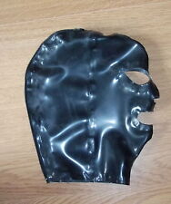 Latex Rubber Quality Hood 0.5mm - Open Eyes, Nose & Mouth: S - XL BNew