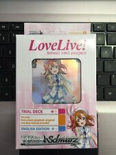 Bushiroad Weib Weiss Schwarz English Love Live! School Idol Project Trial Deck