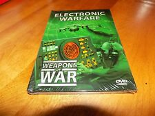 WEAPONS OF WAR ELECTRONIC WARFARE Air Force Aircraft Planes Military DVD NEW