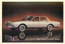 1980 CHEVROLET CAPRICE CLASSIC SEDAN ADV. P/C