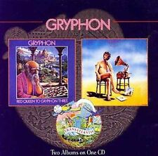 Gryphon Red Queen to Gryphon Three Raindance 2on1 Cd 1997 British Folk