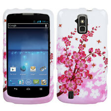 Sprint Boost Force N9100 Rubberized HARD Case Phone Case Cover Spring Flowers