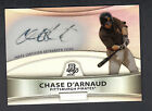 Chase D'Arnaud 2010 Bowman Platinum Prospects Autograph Rookie Refractor Pirates