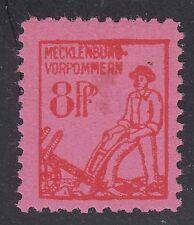 GERMANY, Soviet Zone, 1945. Mecklenburg Mi 11, IV, Mint **