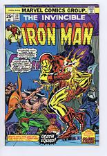 Iron Man # 72 Marvel 1975