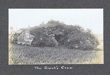 CORNWALL The Giant's Craw - Antique Photograph 1911