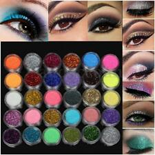 30 Color Mineral Glitter Matt Matte Eyeshadow Eye Shadow Cosmetics Palette Set