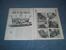 1966 Land Speed Twin Engine Triumph Motorcycle Article on the Gyronaut X-1