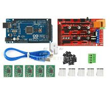 New 3D Printer Kit Mega 2560 + RAMPS 1.4 + 5X A4988 for Arduino RepRap