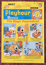 PLAYHOUR & BONNIE COMIC. 11 OCTOBER 1975. CHILDRENS COMIC. PUZZLES NOT DONE VFN+