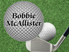 3D Design Steel Golf Ball Marker w' NAME! Gift for Golfer, Personalized Free