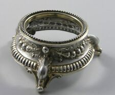 Halter für Salznapf Silber um 1900