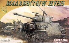 Dragon 7302: 1/72 M4A3E8(76)W  HVSS Sherman