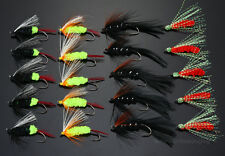 40Pcs Salmon And Trout Flies Umpqua Special Fly Fishing Lures H017