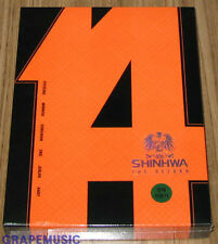 SHINHWA The Return 14th ANNIVERSARY SPECIAL DVD K-POP 2DVD + 48P PHOTOBOOK NEW