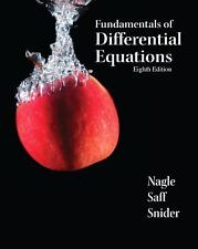 FAST SHIP - NAGLE SAFF SNIDER 8e Fundamentals of Differential Equations      EP5