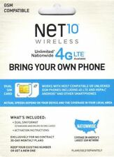 NET10 DUAL SIM CARD FOR THE IPHONE 3GS AT&T NETWORK  NET10 MICRO SIM CARD