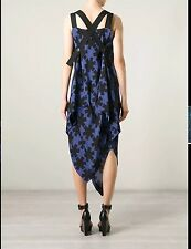 Vivienne Westwood Anglomania Revival Printed Asymmetrical Dress 38