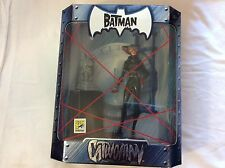SDCC Comic Con Exclusive THE BATMAN CATWOMAN Action Figure 2005 silver statue