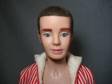 Vintage 1961 BRUNETTE FLOCKED HAIR KEN Barbie DOLL in Original Suit
