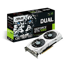 ASUS nVidia GTX 1060 DUAL OC 3gb GDDR 5 Scheda grafica video-HDMI & Display Port