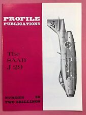 No.36 - AIRCRAFT PROFILE PUBLICATIONS - The SAAB J 29 - VG Condition