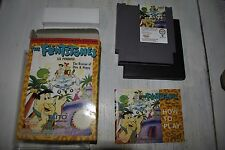 THE FLINTSTONES les pierrafeu THE RESCUE OF DINO BOITE - JEU NINTENDO NES