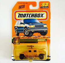HOTWHEELS / MATCHBOX 1999 HUMVEE MILITAY ( ALPHA CO. ) - SUPER RARE