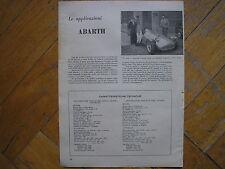 ABARTH CISITALIA MONZA SPIDER CARATTERISTICHE TECNICHE NUVOLARI