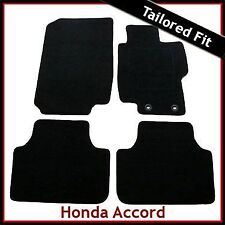 Honda Accord Mk7 2002-2008 Fully Tailored Carpet Car Floor Mats BLACK