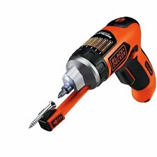 Cordless Electric Screwdriver Set Magnetic Screw Holder Lithium Ion BLACK DECKER