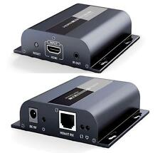 Up to 120m,With IR HDbitT HDMI 1080P Extender LAN Converter over RJ45 Cat5e/Cat6