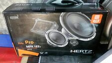 "Hertz Mille MPK163.3 3 Way Component Car Speakers 6.5"" - FREE UPS SHIPPING"