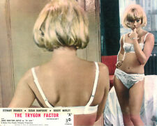 The Trygon Factor Original  Lobby Card Susan Hampshire underwear sexy mirror