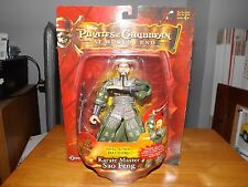 """PIRATES OF THE CARIBBEAN AT WORLD'S END, KARATE MASTER SAO FENG 7"""" FIG. NIP 2007"""