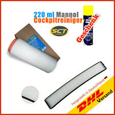 BMW 3 Series E46 Cabin/pollen Filter + Air filters + Cockpit GIFT